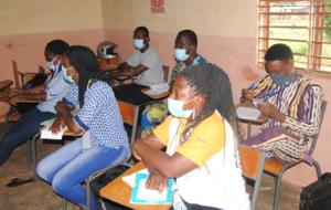 Participants en situation de classe